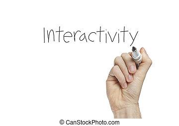interactivity, hand schreiben