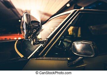 interceptor, police, véhicule
