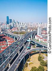 interchange of viaducts