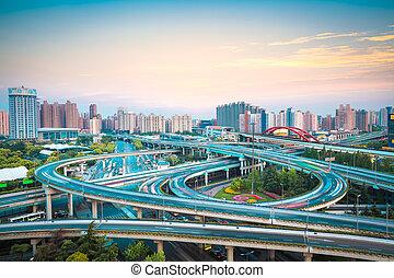 interchange overpass