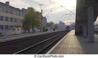 Intercity High-Speed Passenger Train Ukraine