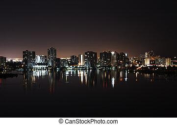 Intercoastal at night