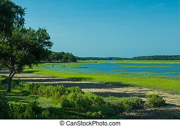 Intercoastal Waterway, Beaufort, South Carolina