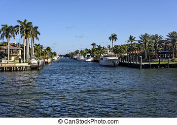 Intercoastal Waterway in Fort Lauderdale