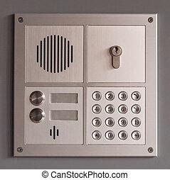 intercom access panel