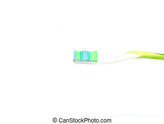 Toothbrush - Interdental Toothbrush Isolated on White
