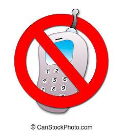 interdiction, téléphone portable