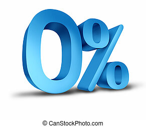 Interest rates - Zero percent interest rate for the months...