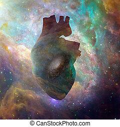 interestelar, corazón