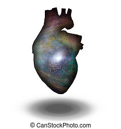 interestelar, corazón, galaxia