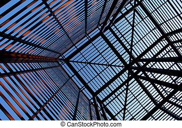 Interesting industrial metal structure 2