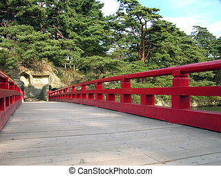 Japanese bridge perspective