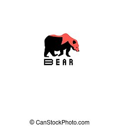 Interesting symbol of the bear