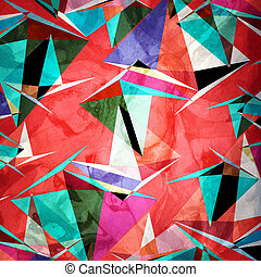 Interesting variety of geometric elements - Abstract...