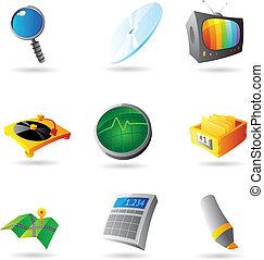 interface, ícones
