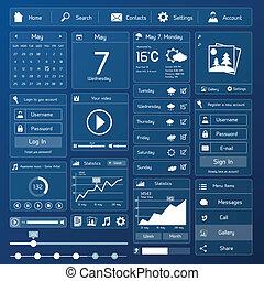 interface, apartamento, usuário, modelo