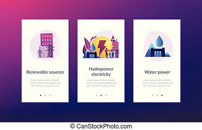interface, app, template., hydropower