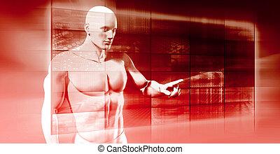 interface, futuro, tecnologia