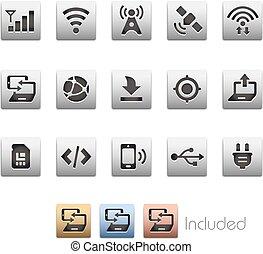 Interface Icons // Metalbox Series