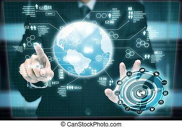 interface, multimedia, internet