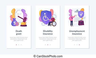 interface, ouvriers, template., sécurité, policies, app, social