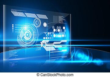 interface, technologie