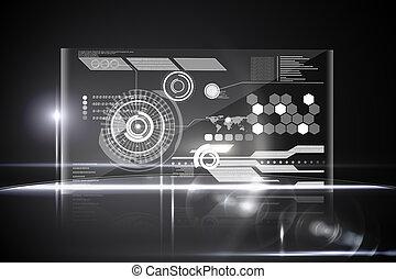 interface, tecnologia