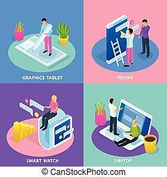 interface utilisateur, conception, concept