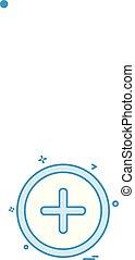 interface utilisateur, icône, conception, vecteur