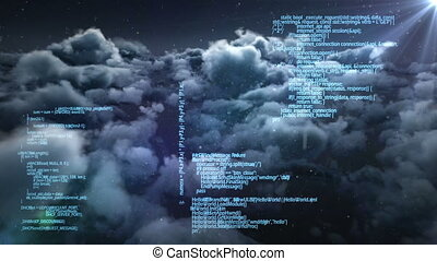 interface, vidéo, digitalement, écran, engendré