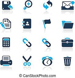 interface, web, hemelsblauw, /