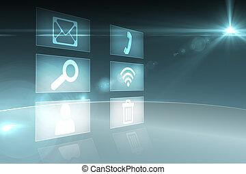 interfaz, aplicaciones