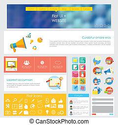 interfaz, diseño, usuario
