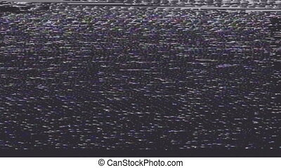 Interference on television with faults and bands of ...