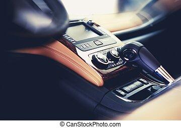 interieur, auto, schoonmaken