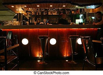 interieur, bar