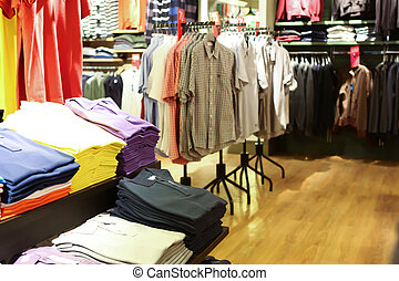 interieur, de opslag van de kleding
