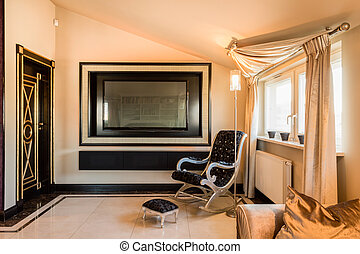 interieur, fiscale woonplaats, barok, kamer