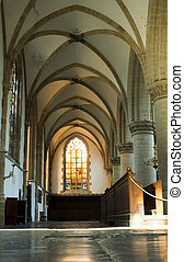 interieur, kerk