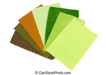interieur, kleur ontwerp, materiaal, keuze