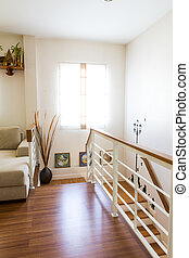 interieur, levend, moderne kamer