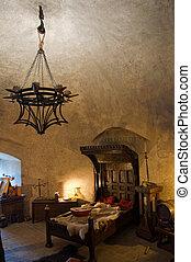 interieur, middeleeuws