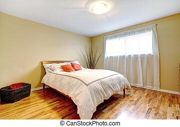 interieur, moderne, bed, slaapkamer
