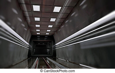 interieur, spaceship