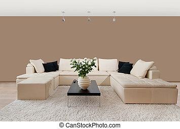 interieur, thuis, moderne