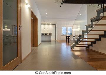 interieur, woning, ontwerpers, -