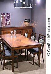 interior, 2, dinning, sala