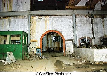 Interior abandoned mine