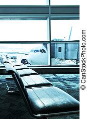 interior, aeroporto