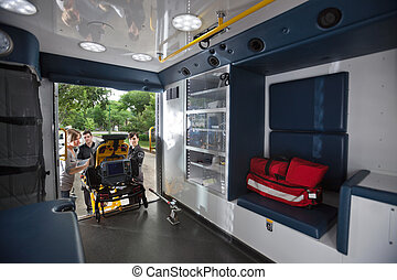 interior, ambulance